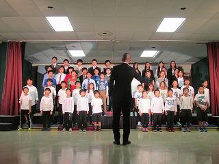 10月15日メイプル祭を実施しました。 全校合唱「僕たちにもできること   ~過去・現在(いま)・そして未来へ~」